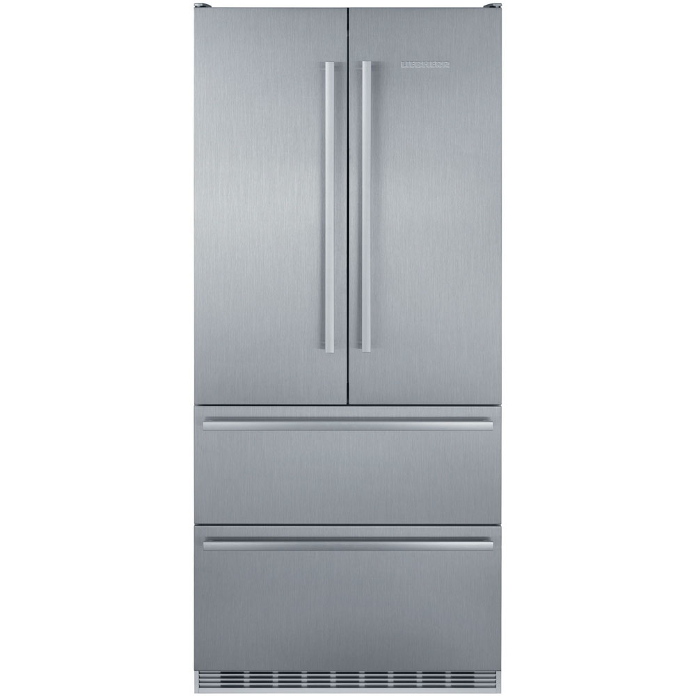 Liebherr 36-In. Cabinet-Depth Freestanding French Door Refrigerator-Freezer with BioFresh Technology in Stainless Steel