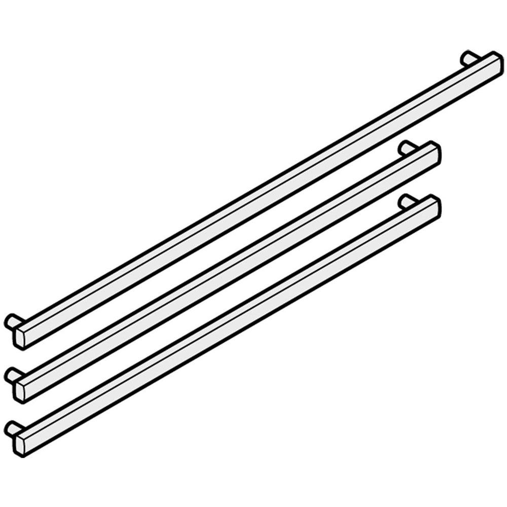 Liebherr Three-Piece Aluminum Handles for 30-In. Refrigerator/Freezers