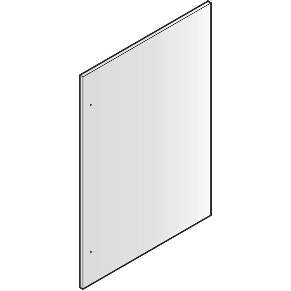 Stainless Steel Refrigerator Door 84-In. Panel
