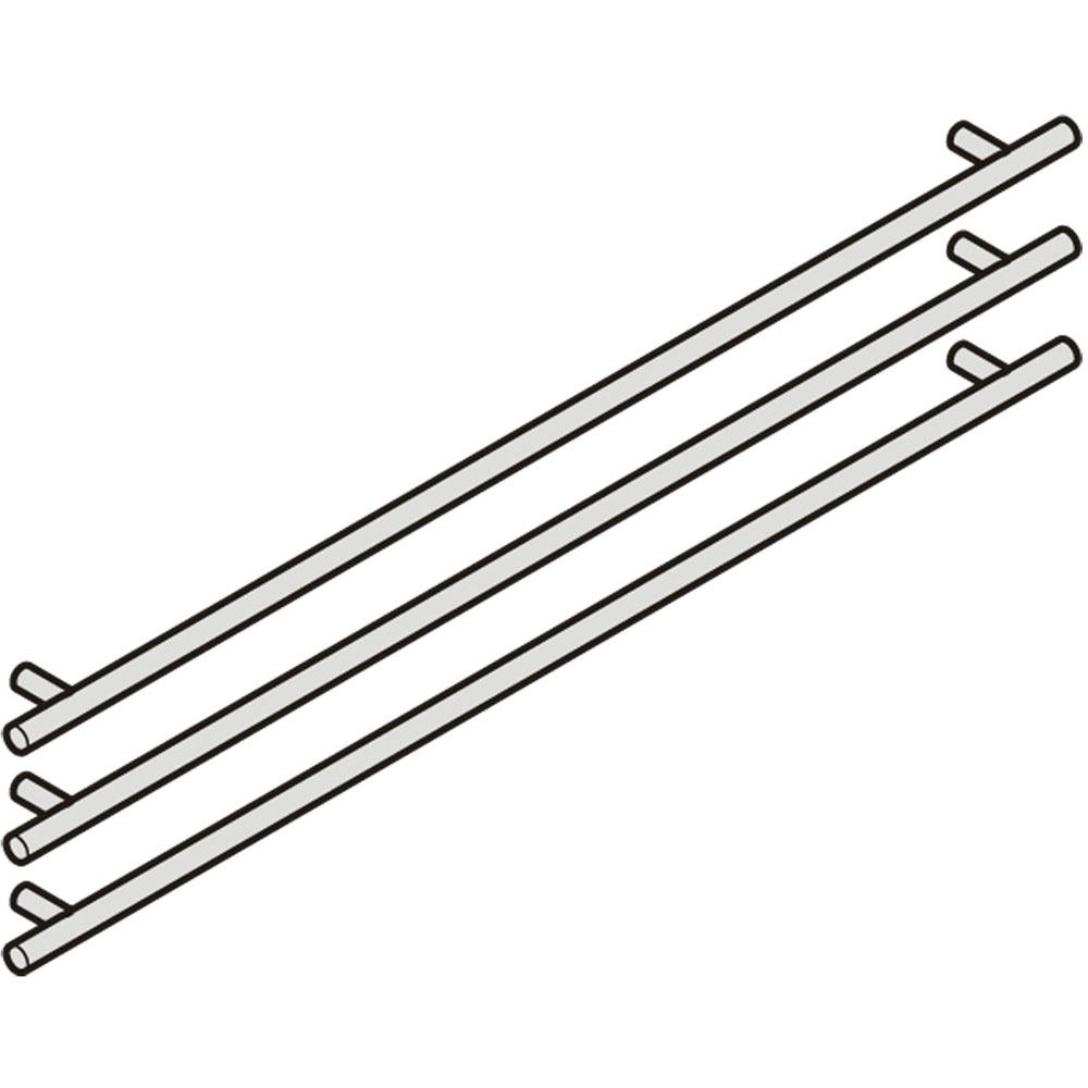 Liebherr Handles Stainless Steel (3 pcs)