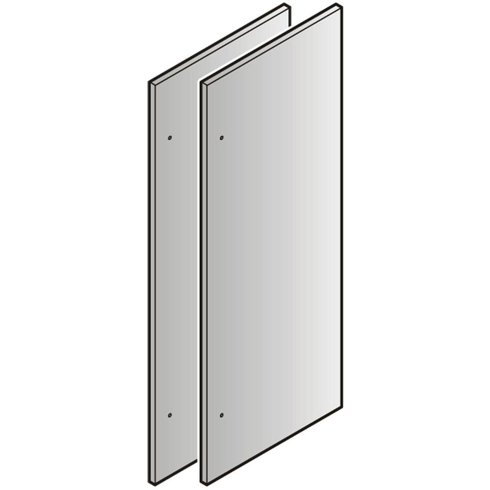 Liebherr Set of 2 Stainless Steel Refrigerator Door 84-In. Panels