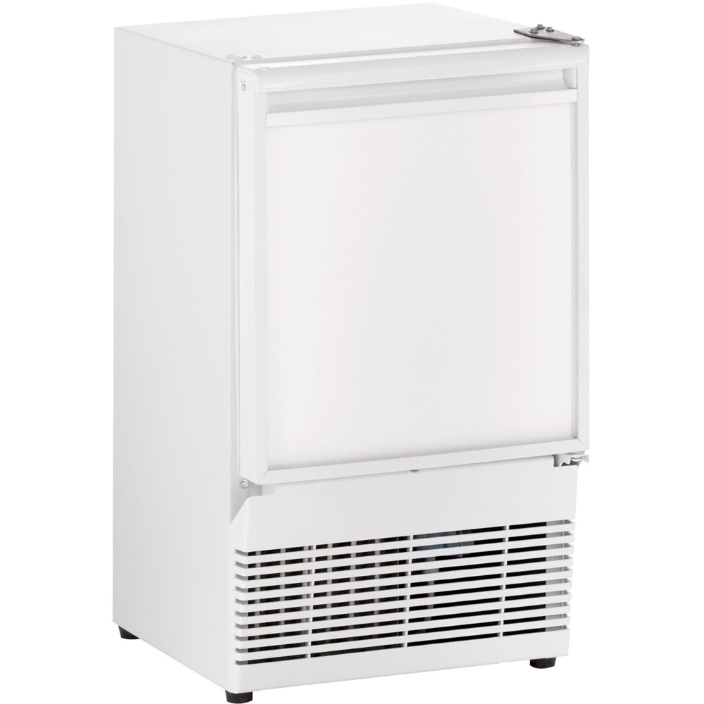 U-Line 14-In. ADA Series White Field-Reversible Crescent Ice Maker