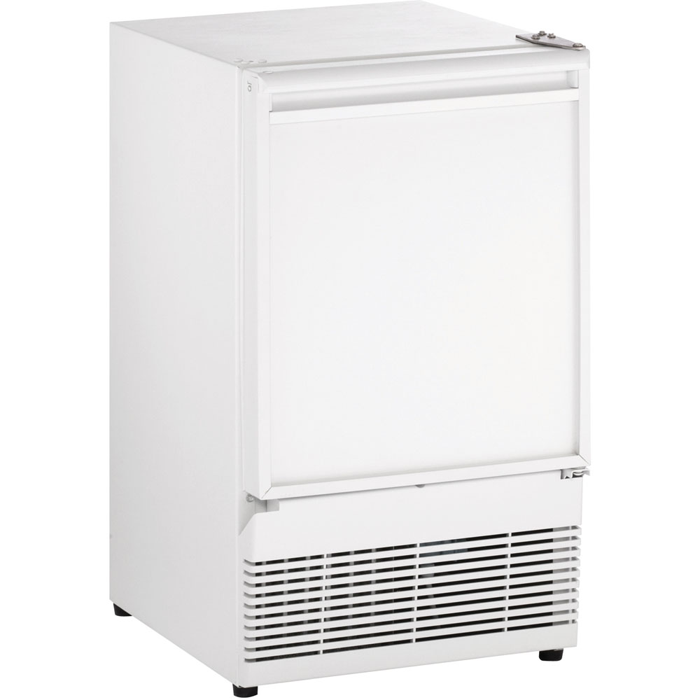 U-Line 15-In. White Field-Reversible Crescent Ice Maker