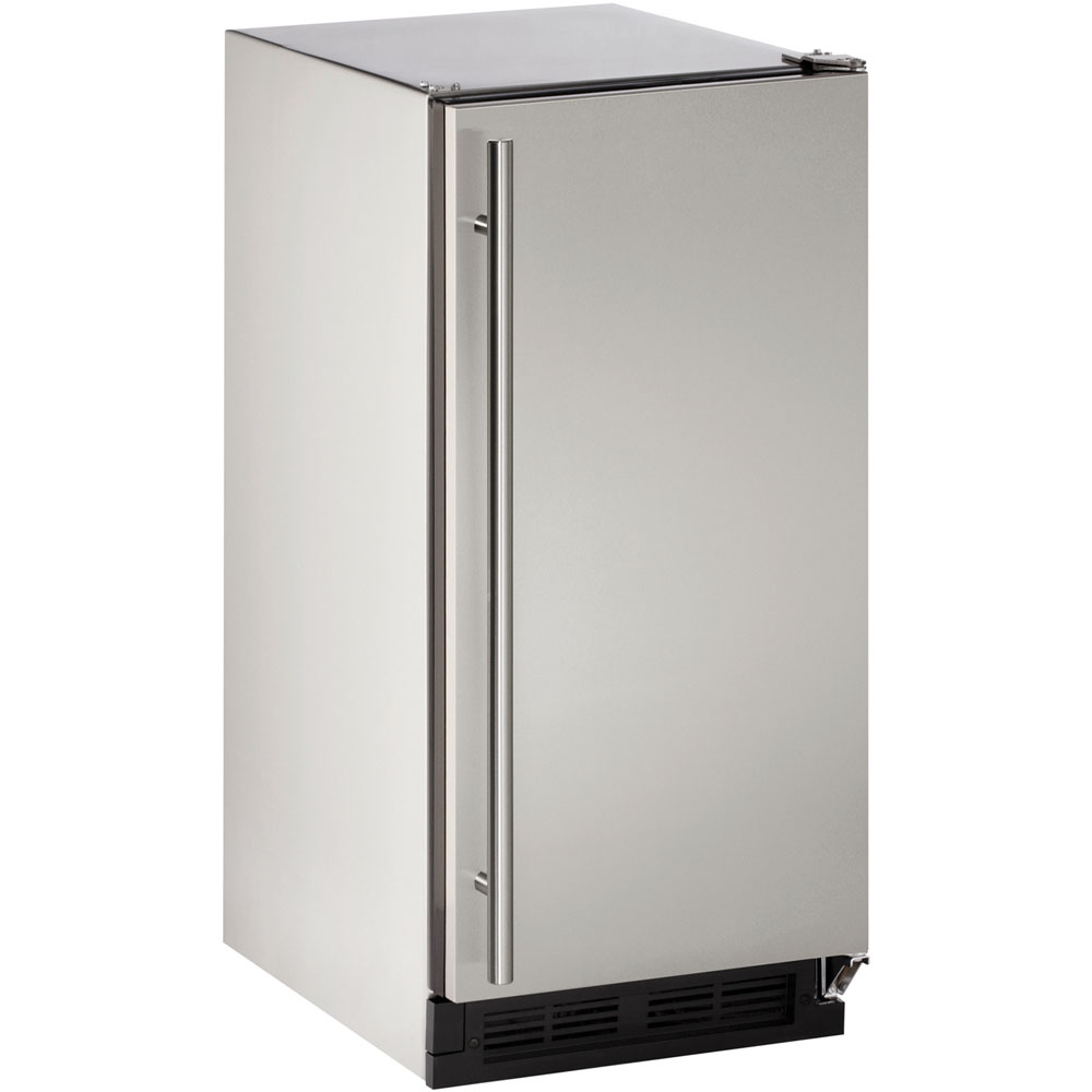 U-Line 15-In. Outdoor Series Field-Reversible Clear Ice Maker without Pump