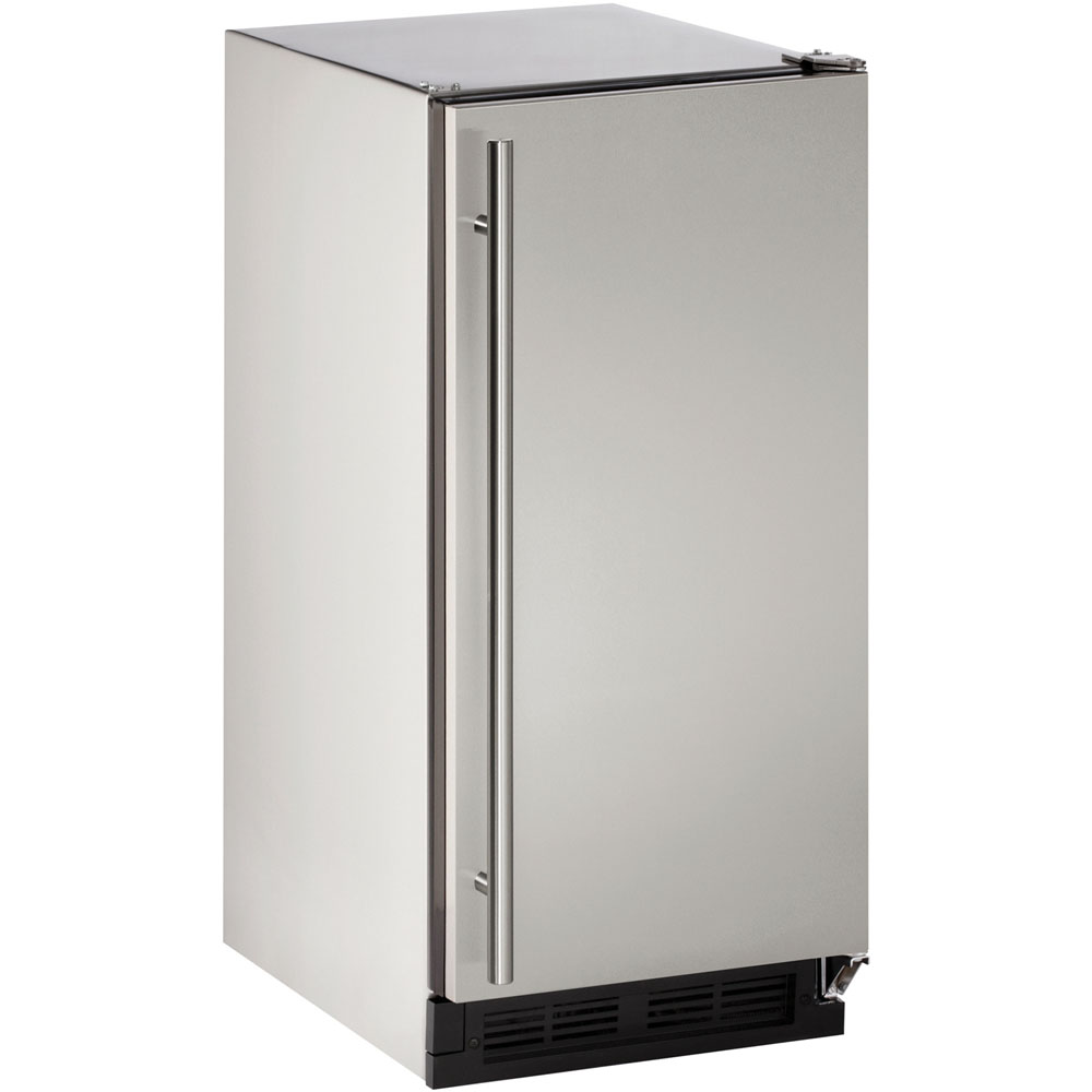U-Line 15-In. Outdoor Series Field-Reversible Clear Ice Maker with Pump