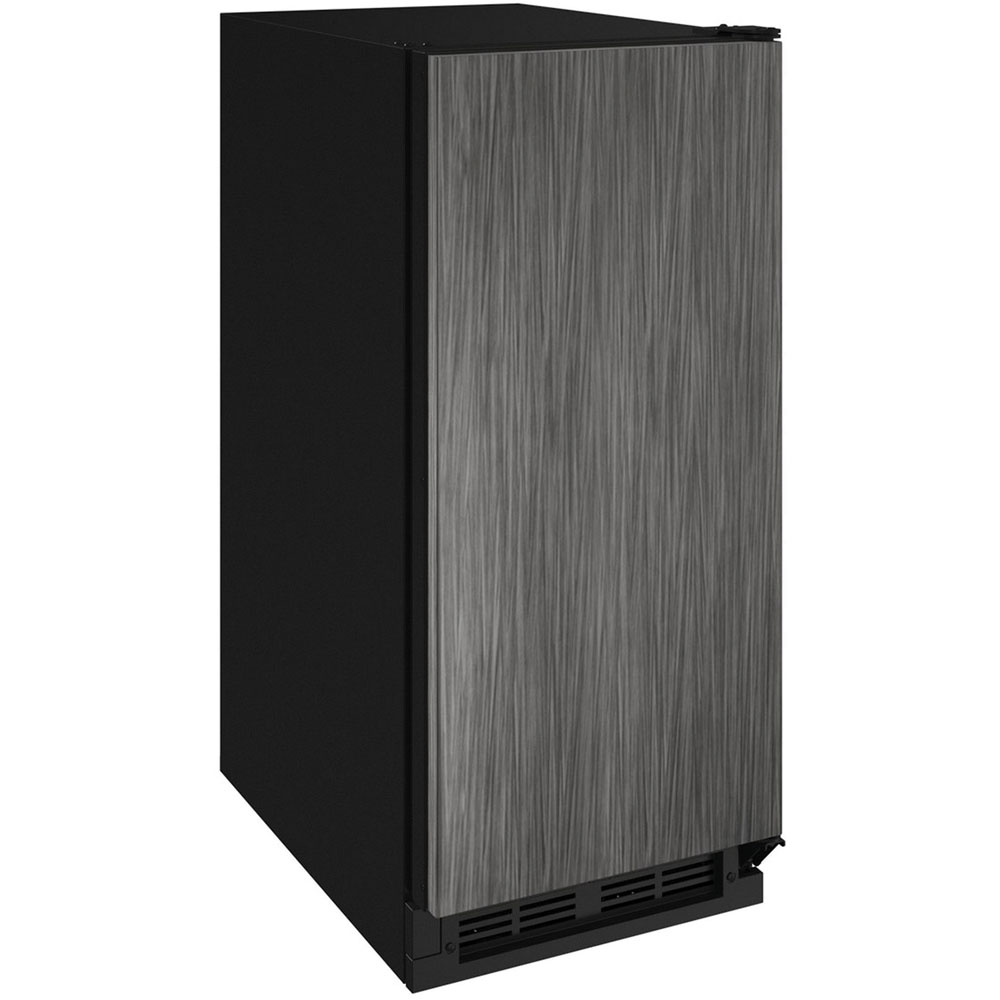 "Model: U-1215BEVINT-60A | U-Line 15"" 1000 Series Integrated Beverage Center- Solid Door"