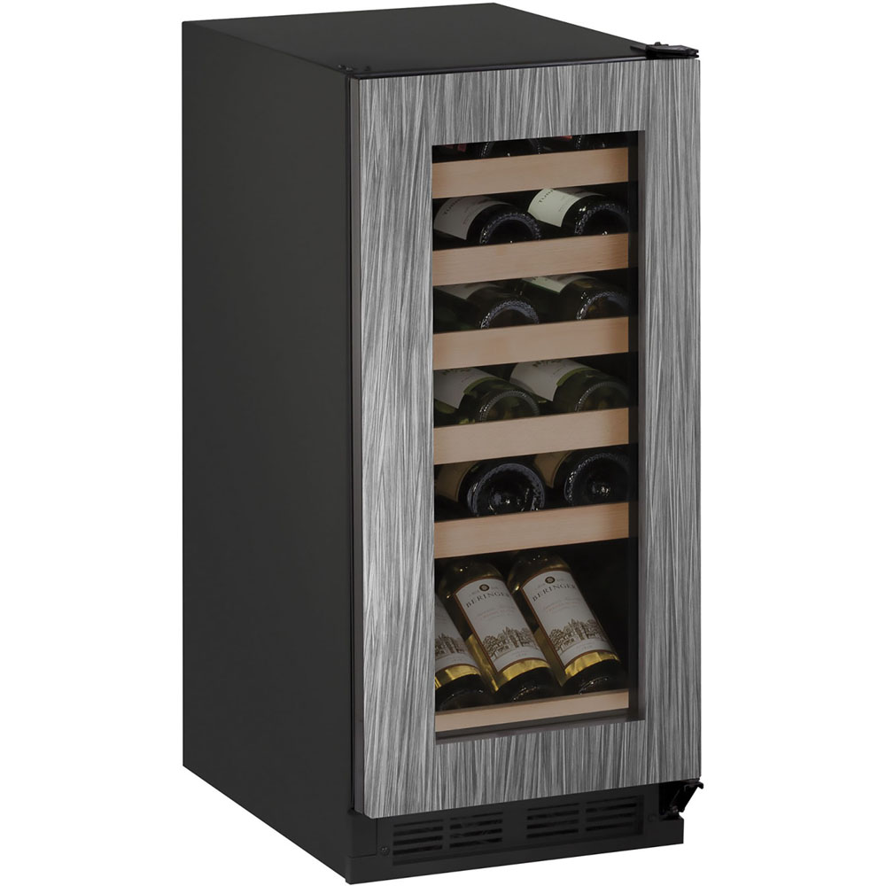 U-Line 15-In. 1000 Series Integrated Frame Wine Captain with Reversible Hinge Door