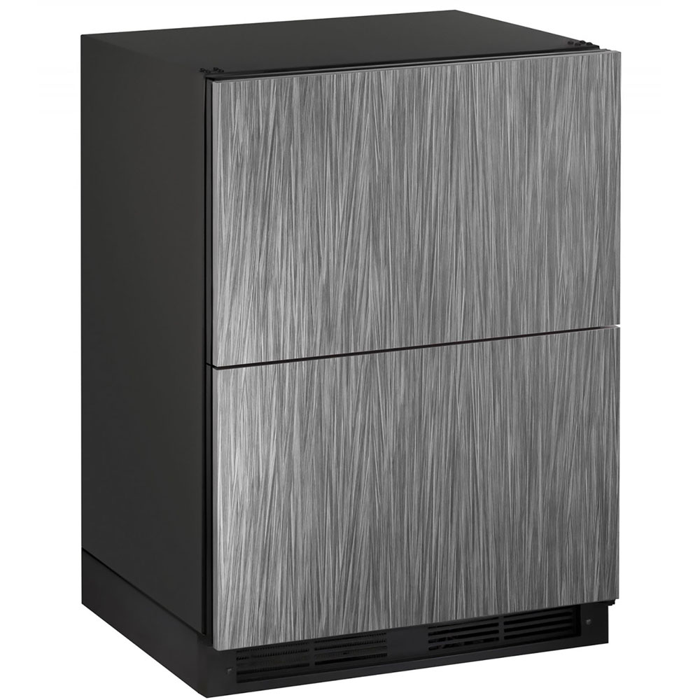 24-In. 1000 Series Integrated Solid Refrigerator Double Drawers