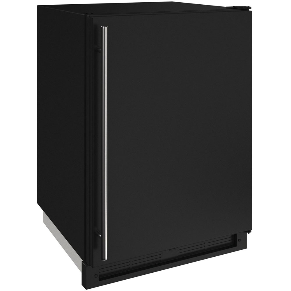 Model: U-1224FZRB-00A | U-Line 24-in. 1000 Series Freezer- Black
