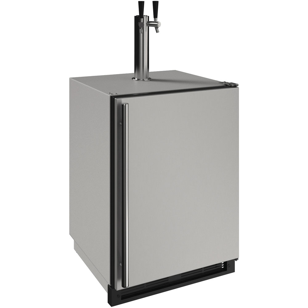 "U-Line 24"" 1000 Series Outdoor Keg Refrigerator"