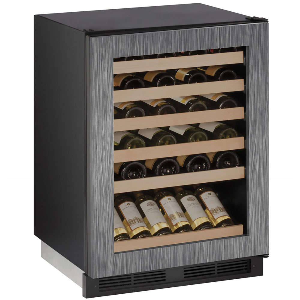 U-Line 24-In. 1000 Series Integrated Frame Wine Captain with Reversible Door Hinge