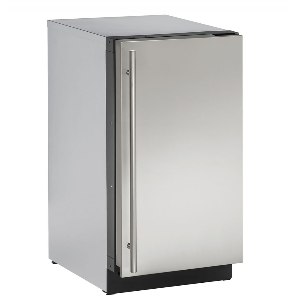 18-In 2000 Series Stainless Solid Door Refrigerator with Reversible Door Hinge