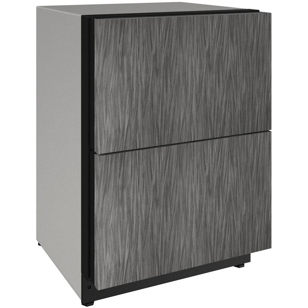 "U-Line 24"" 2000 Series Integrated Refrigerator Drawers"