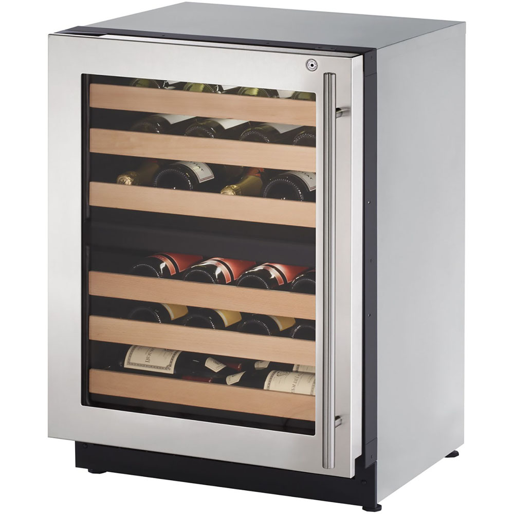 24-In. 2000 Series Left-Handed Stainless Frame Wine Captain with Lock