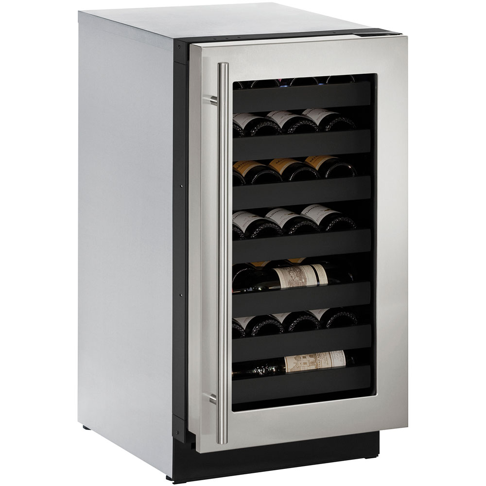 18-In. Modular 3000 Series Wine Captain with Field-Reversible Stainless Frame Door