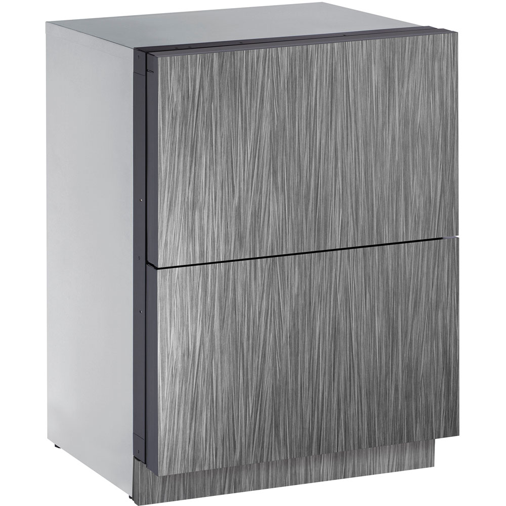 U-Line 24-In. Modular 3000 Series Integrated Solid Refrigerator Drawers