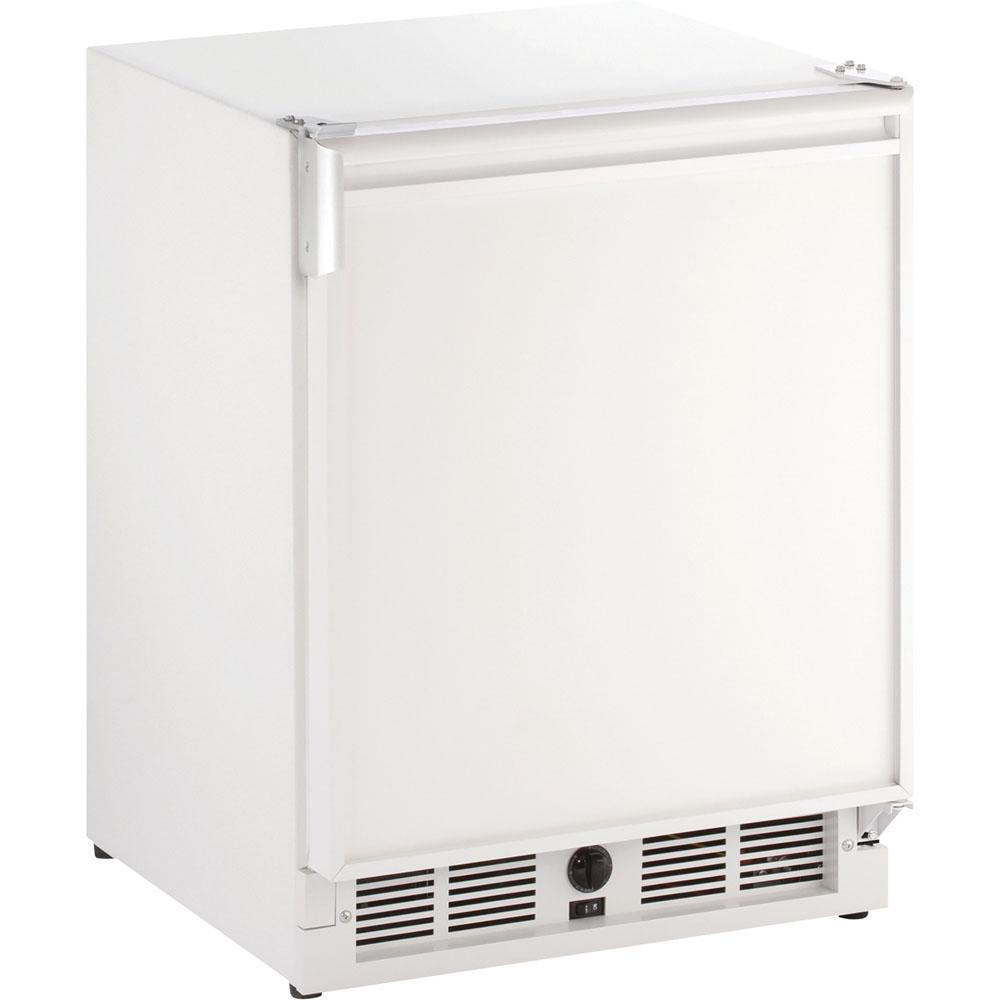 21-In. Marine Series White Field-Reversible 220-240V Combo Refrigerator/Ice Maker
