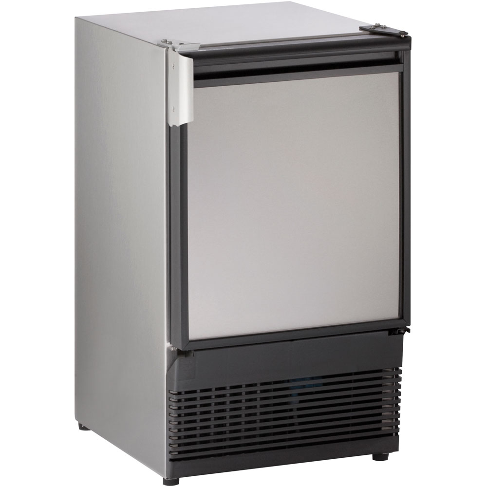 15-In. Marine Series Stainless Field-Reversible 115V Crescent Ice Maker