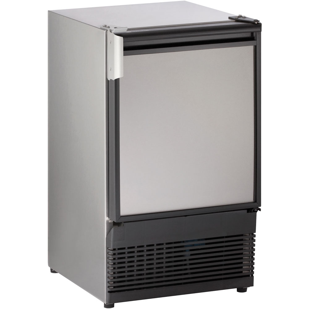 U-Line 15-In. Marine Series Stainless Field-Reversible 220-240V Crescent Ice Maker
