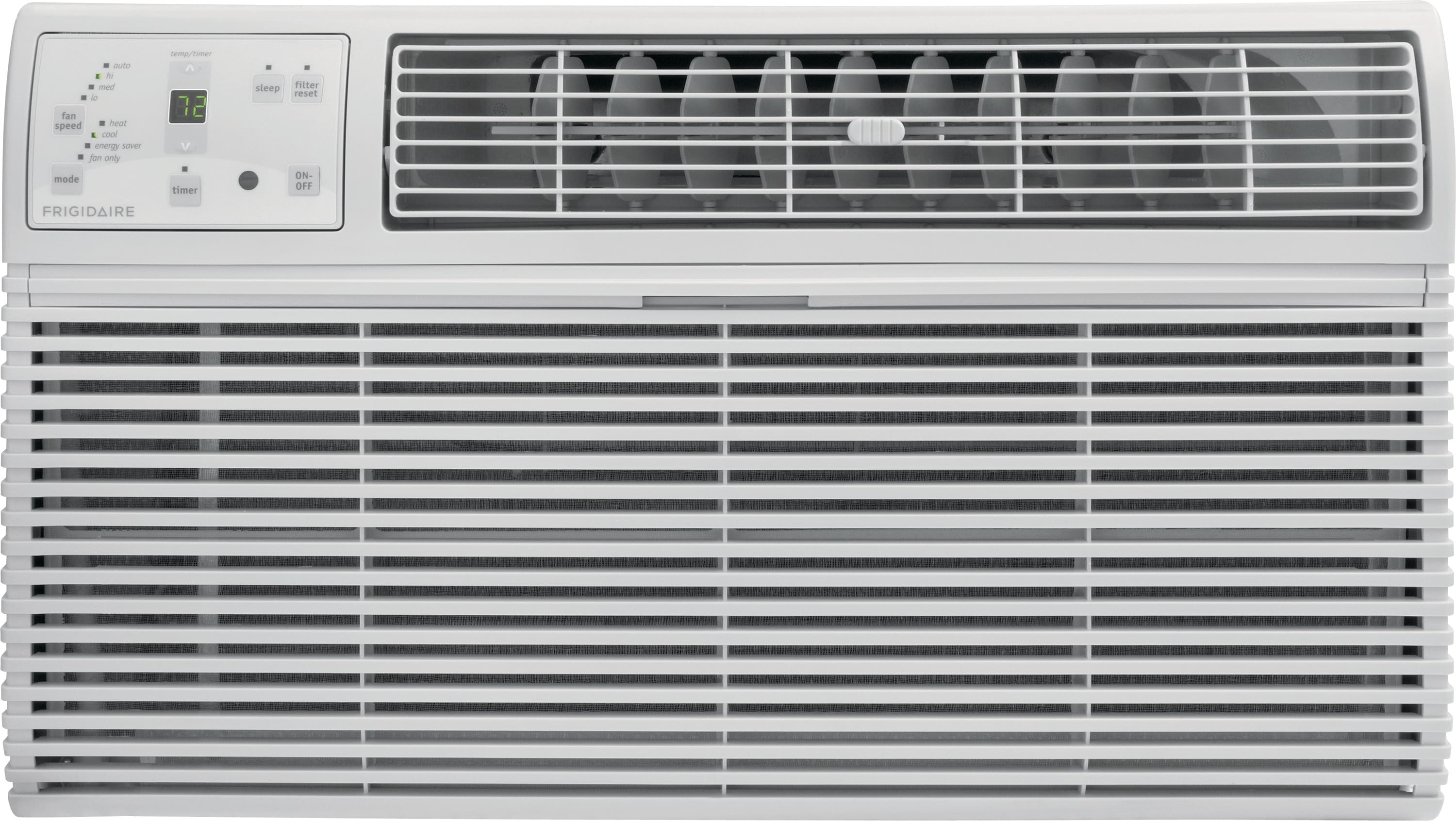 10,000 BTU Built-In Room Air Conditioner with Supplemental Heat