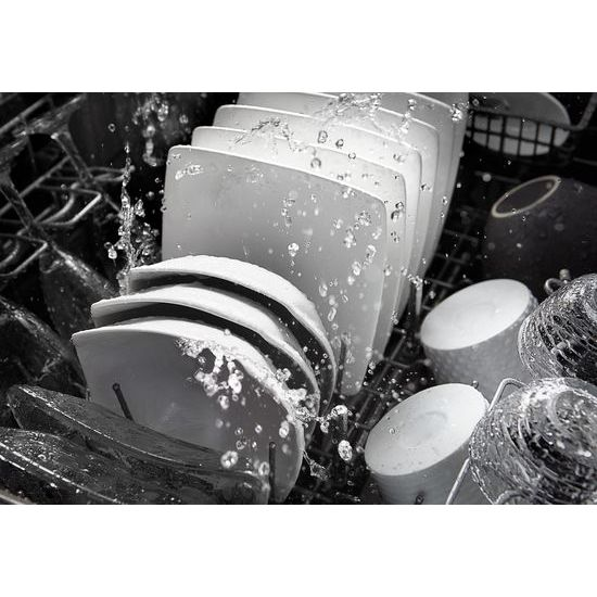 44 dBA Dishwasher with Dynamic Wash Arms and Bottle Wash