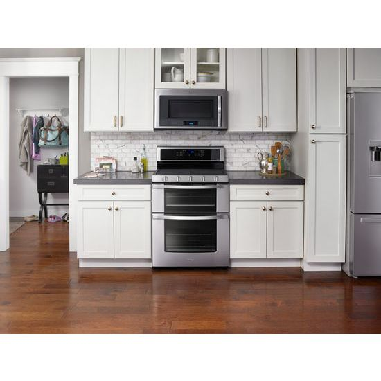 Model: WRV976FDEM | 36-inch Wide Double Drawer French Door Refrigerator with Dual Cooling System - 26 cu. ft.