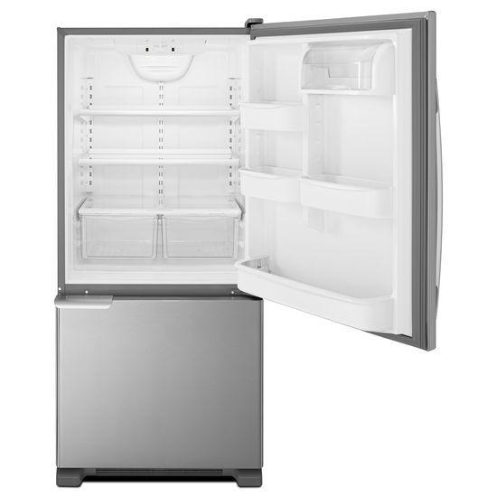 Model: ABB1921BRM | Amana 29-inch Wide Bottom-Freezer Refrigerator with Garden Fresh™ Crisper Bins -- 18 cu. ft. Capacity