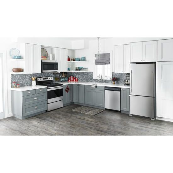 Model: ABB1921BRM | Amana 29-inch Wide Bottom-Freezer Refrigerator with Garden Fresh™ Crisper Bins -- 18 cu. ft. Capacity
