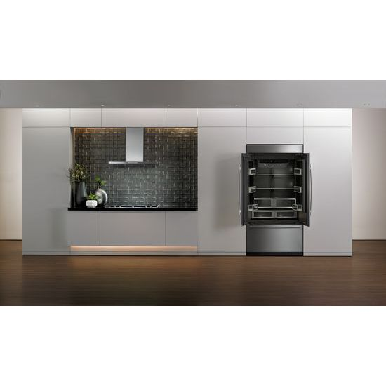 "Model: JXW8936DS | Jenn-Air Euro-Style 36"" Low Profile Canopy Wall Hood"