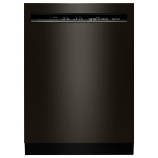 KitchenAid 46 DBA Dishwasher with ProWash™ Cycle and PrintShield™ Finish, Front Control