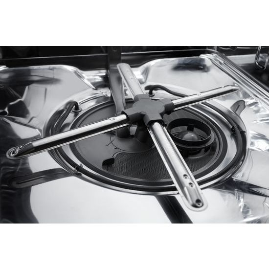Model: KDFE104HBS | KitchenAid 46 DBA Dishwasher with ProWash™ Cycle and PrintShield™ Finish, Front Control