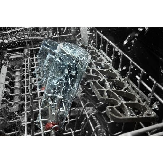 Model: KDTE304GPS | KitchenAid 46 DBA Dishwasher with Third Level Rack, Bottle Wash and PrintShield™ Finish