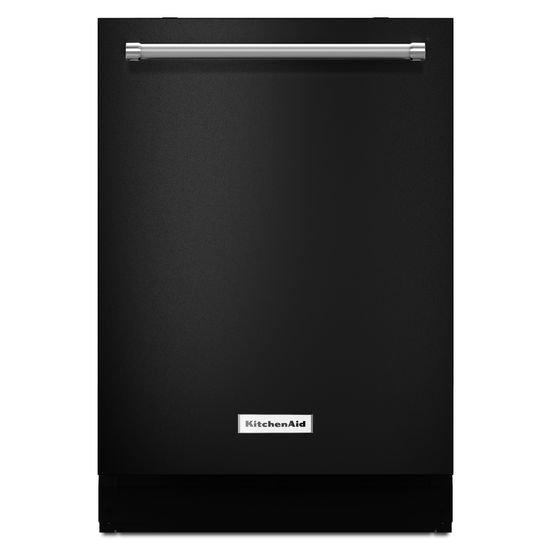 Model: KDTM404EBL | KitchenAid 44 dBA Dishwasher with Dynamic Wash Arms