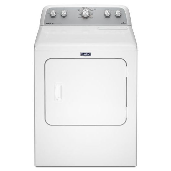 Model: MEDX655DW | Maytag 7.0 cu. ft. Dryer with Sanitize Cycle
