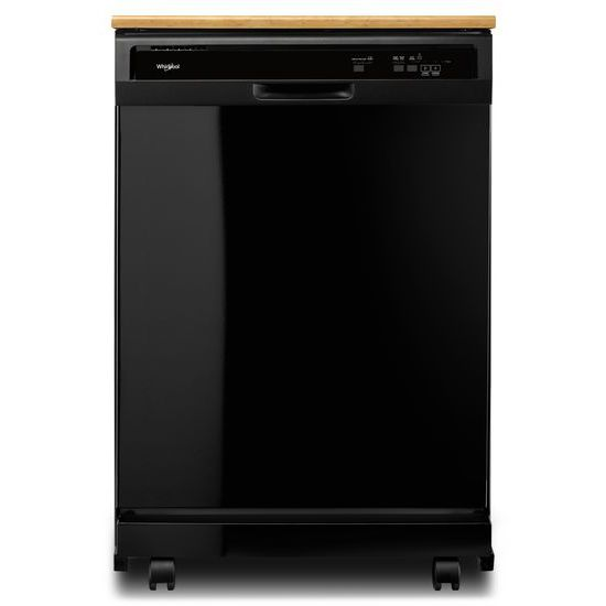 Model: WDP370PAHB | Whirlpool Heavy-Duty Dishwasher with 1-Hour Wash Cycle