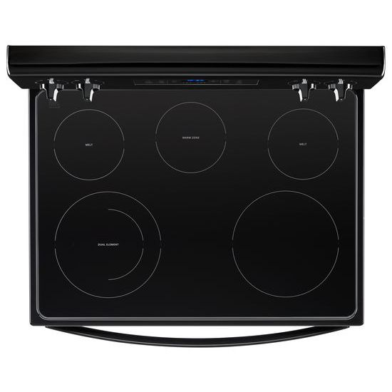 Model: WFE505W0HB | Whirlpool 5.3 cu. ft. Freestanding Electric Range with 5 Elements