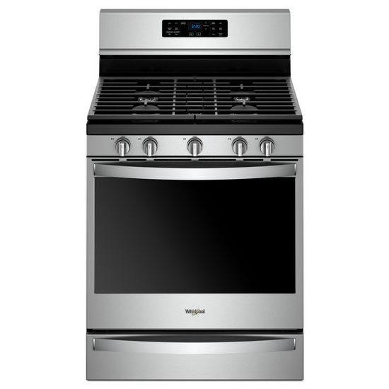 5.8 cu. ft. Freestanding Gas Range with Frozen Bake™ Technology
