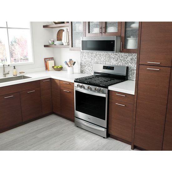 Model: WFG775H0HZ   Whirlpool 5.8 cu. ft. Freestanding Gas Range with Frozen Bake™ Technology