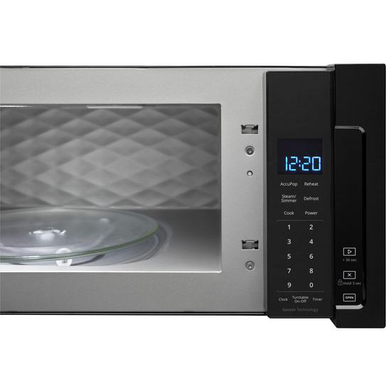 Model: WML75011HB | Whirlpool 1.1 cu. ft. Low Profile Microwave Hood Combination
