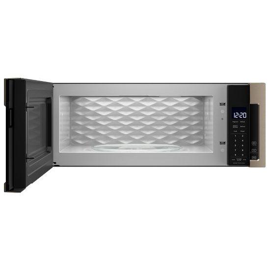 Model: WML75011HN | Whirlpool 1.1 cu. ft. Low Profile Microwave Hood Combination