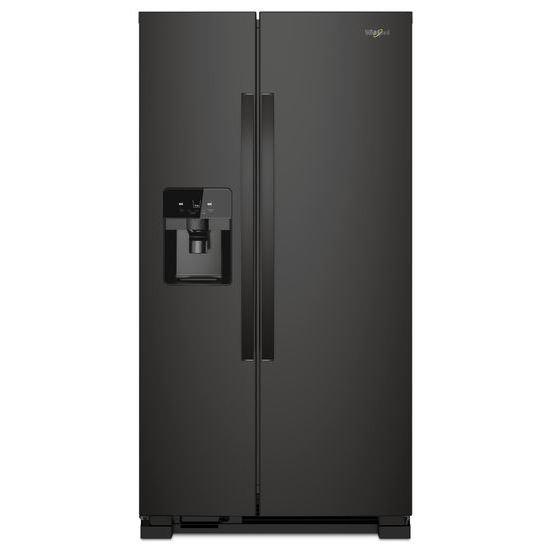 Model: WRS325SDHB | Whirlpool 36-inch Wide Side-by-Side Refrigerator - 25 cu. ft.