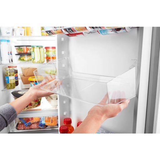Model: WRS325SDHB | 36-inch Wide Side-by-Side Refrigerator - 25 cu. ft.