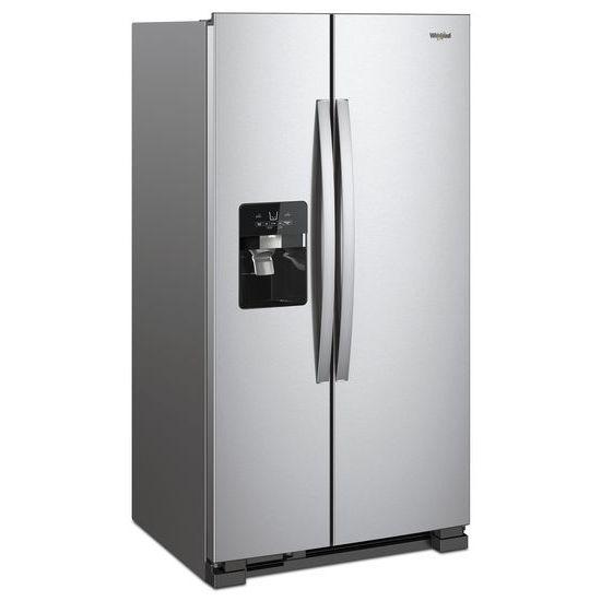 Model: WRS325SDHZ | Whirlpool 36-inch Wide Side-by-Side Refrigerator - 25 cu. ft.