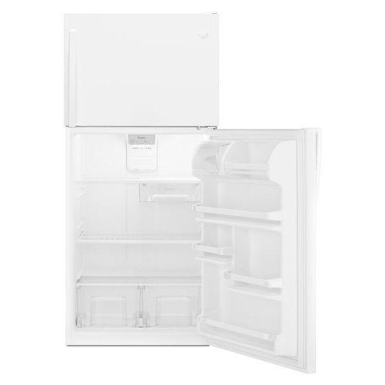 Model: WRT138FZDW   Whirlpool 30-inch Wide Top Freezer Refrigerator - 18 cu. ft.