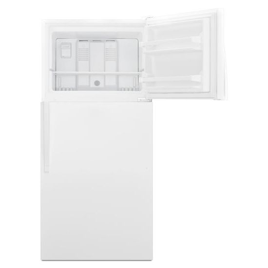 Model: WRT138FZDW | Whirlpool 30-inch Wide Top Freezer Refrigerator - 18 cu. ft.