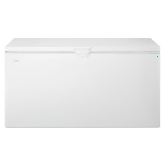 Whirlpool 22 cu. ft. Chest Freezer with Extra-Large Capacity and Temperature Alarm