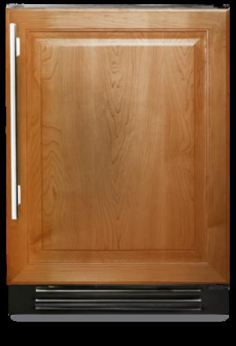 24 Inch Beverage Center with Left Hinge Solid Panel Door (shown with right hinge door)