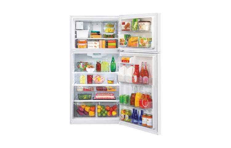 Model: LTCS24223W | LG 24 cu. ft. Top Mount Refrigerator