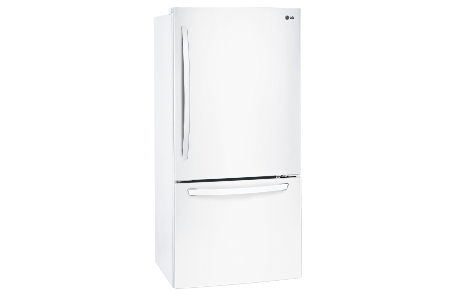 Model: LDCS24223W | LG 24 cu. ft. Bottom Freezer Refrigerator