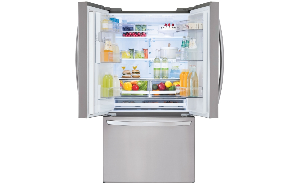 Model: LFXS28968S | LG 28 cu.ft. Smart wi-fi Enabled French Door Refrigerator
